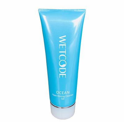 水密碼洗面奶溫和潔面(水漾煥能潔膚啫喱100g)控油補水保濕深層清潔收縮毛孔提亮膚色