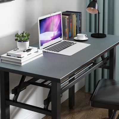 辦公家具簡約可折疊桌長條桌子擺攤簡易長方形會議培訓家用租房餐桌小戶型