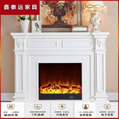 蘇寧放心購1.5米美式壁爐裝飾柜歐式壁爐架電子壁爐芯仿真火家用1906簡約新款