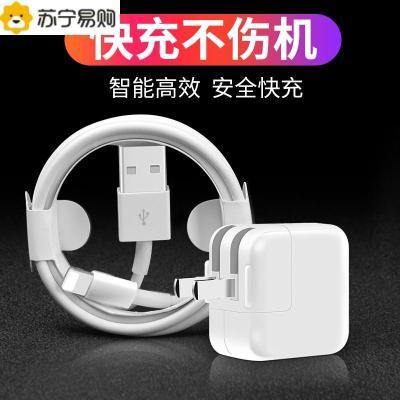 ipad充电器mini/ari/2/3/4适用于苹果5/6/7/8plus/iphoneX充电头快充12W原装平板电