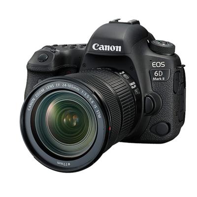 佳能(Canon)EOS 6D2(24-105 STM)数码全画幅单反单镜头套装 像素约2620万