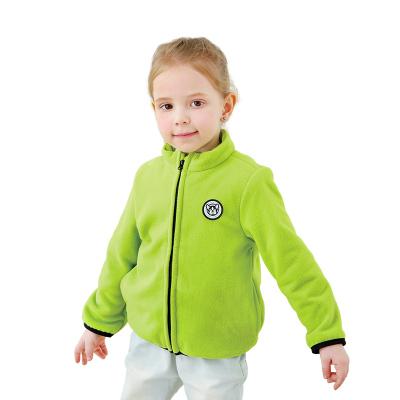 【苏宁自营】龙之涵儿童保暖外套春秋上衣摇粒绒外套褂子大童长袖休闲外套