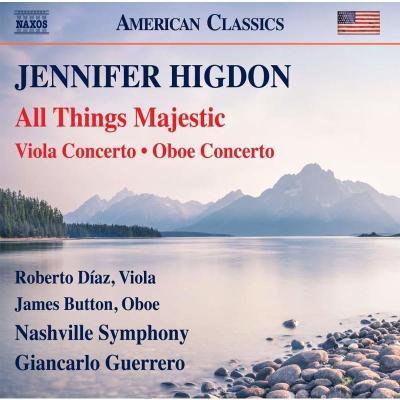 Naxos 8559823 Higdon:All Things Majestic,雙簧管協奏曲CD 預定