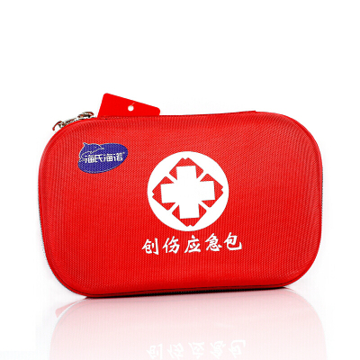 海氏海諾 創傷應急包 便攜急救包套裝醫用 求生包應急醫藥包旅行急救箱 車載車用 家用 收納用品 小紅包 急救用品器械