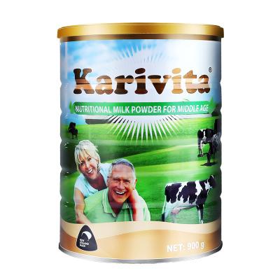 卡瑞特茲karivita新西蘭進口中老年奶粉魚油高鈣脫脂無蔗糖進口低脂成人奶粉900g