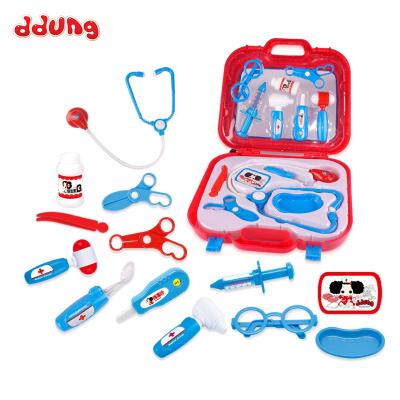 玩具冬己男女孩過家家角色扮演兒童迷你醫生工具箱益智玩具FDE350(325*85*290)塑料材質,3歲以上