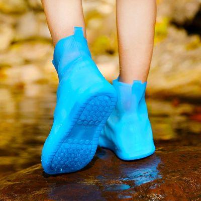 【鞋底雙層加厚】雨鞋套男女防水防滑防臟污中低筒水鞋一體成型 TCVV