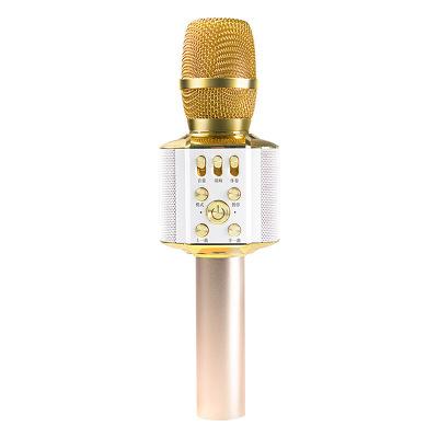 【密子君同款】屁颠虫(Hifier)X5蓝牙麦克风智能AI全民K歌音响话筒一体主播录音K歌宝专用手机 金色 3.5接口