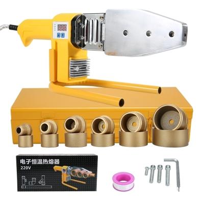 安捷順電子恒溫熱熔器 PPR水管熱熔機塑焊機合接器熱容器焊接設備 32雙散熱+大金模頭