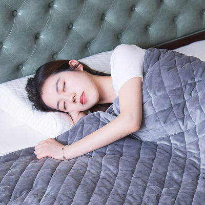 喜臨門舒緩釋壓助眠重力毯