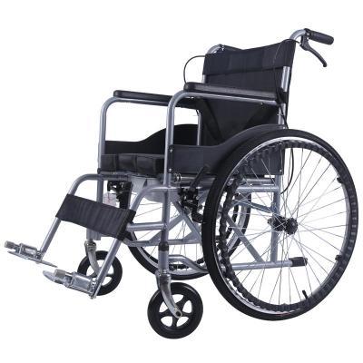 高博士(GAO BO SHI)帶坐便輪椅折疊老人輕便手動輪椅車老年人殘疾人代步車多功能手推車 低背坐便款