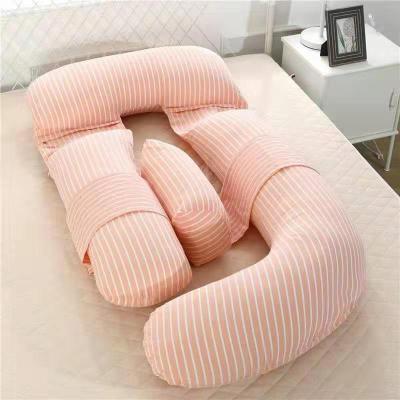 可拆卸孕婦枕頭托腹護腰枕多功能Gu型孕媽側臥靠抱枕夏天睡枕用品