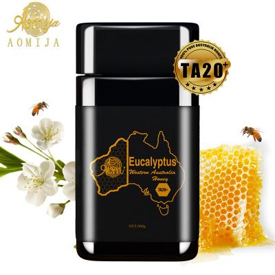 AOMIJA西澳洲原罐进口 天然活性纯蜂蜜 桉树蜜TA20 500g 滋养肠胃增强免疫 澳大利亚直采 原瓶进口