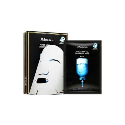 【煥變水光肌】JMsolution肌司研 水光針劑 急救補水 面膜 10片/盒 黒臻版 保濕補水 JM