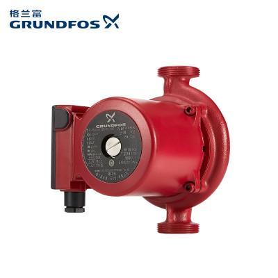 丹麦格兰富地暖循环泵UPBasic25-12壁挂炉空气源热泵地暖锅炉循环泵地暖家用 24KW以上适配 隐藏安装静音运行