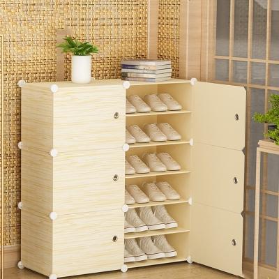 簡易家用多層收納鞋柜經濟型省空間防塵大容量放門口小鞋架子