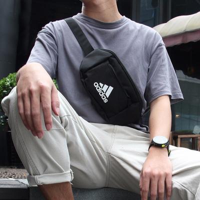 Adidas阿迪達斯正品單肩包男包女包2020夏季新款時尚潮流旅游包運動休閑戶外斜挎包小拎包ED6877