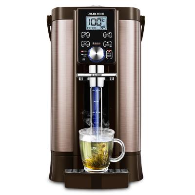 奥克斯(AUX)8530F电热水瓶电水壶全自动烧水壶茶具上水壶即热全自动保温一体家用5L恒温大容量可拆卸12段温度可预约