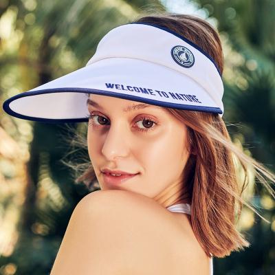 伯希和戶外防曬帽新款男女防曬防紫外線透氣遮陽帽時尚休閑旅游騎車大帽檐遮臉