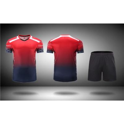新款氣排球服男女款短袖套裝速干比賽隊服網球訓練服毽球運動服裝*.*