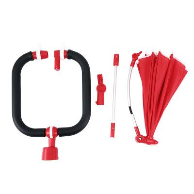 星輝(Rastar)寶馬MINI兒童折疊三輪車配件遮陽傘+護欄