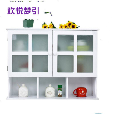 厨房收纳碗柜壁柜吊柜挂柜储物柜浴室防潮玻璃柜墙壁柜顶柜橱柜