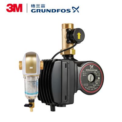 【法国进口】丹麦格兰富全自动静音增压泵UPA 15-160+【德国进口】3M 中央前置过滤器BFS3-40GL
