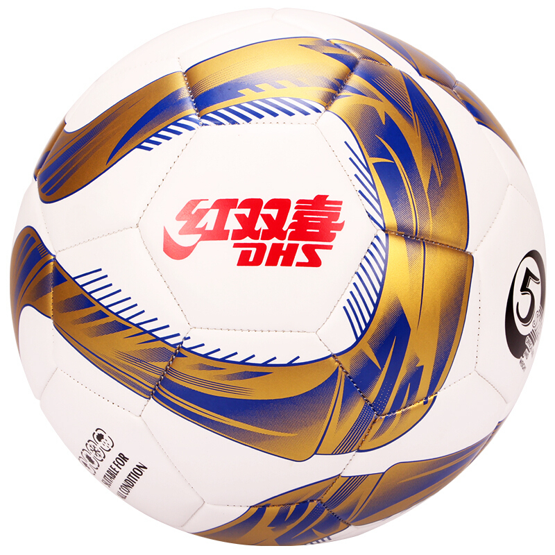 DHS брэндийн хөл бөмбөг FS5-5 эсгүүрэн оёдолтой улаан өнгө