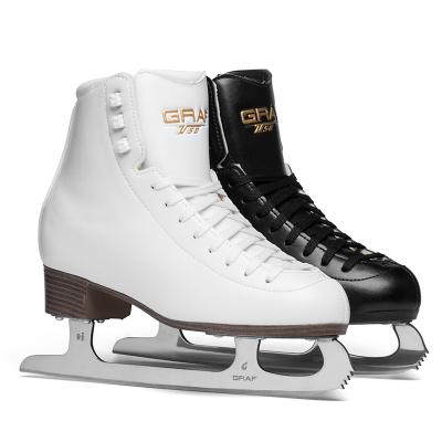 GRAF格拉芙花样冰刀鞋儿童初学者男女成人专业溜冰鞋滑冰鞋真花刀ZTU-50