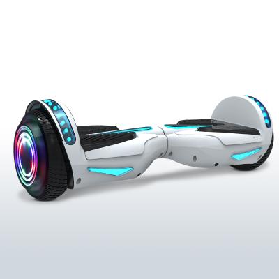 阿尔郎(AERLANG)智能平衡车儿童双轮电动体感思维扭扭车 X7-H白色