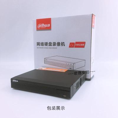 硬盤錄像機大華4路POE網絡錄像機DH-NVR104-P替代DH-NVR2104HS-P-S1支持1080