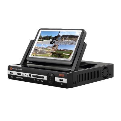 硬盤錄像機帶屏硬盤錄像一體機DVR AHD NVR三合一可配模擬AHD數字攝像頭