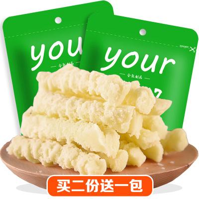酸奶疙瘩 內蒙古奶酪 斯琴妹子牛奶條酸奶酪70g*2包