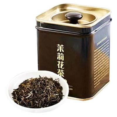 張一元 特級茉莉花茶50g/罐 綠茶茶葉 茉莉香濃 茗茶