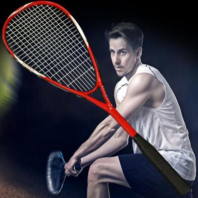 全碳素壁球拍学生男士女初学训练健身器材单人比赛训练器轻套装【定制】