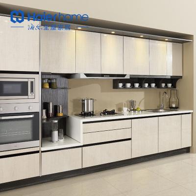海爾Haier home櫥柜定制 整體廚房現代簡約石英石臺面H3 美琪櫥柜 預付金