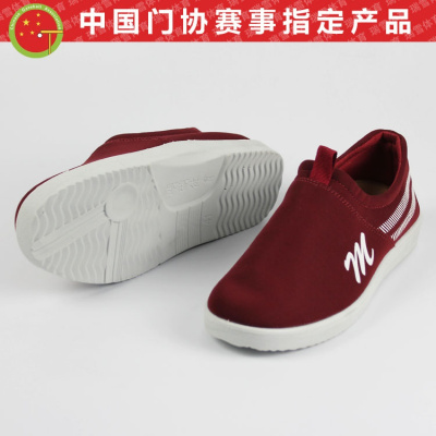 【蘇寧好貨】中國球協會認證品牌 明湖牌MH-901 超輕系列專業貼腳球鞋