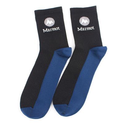Marmot/土撥鼠2020春秋吸濕透氣男式襪子