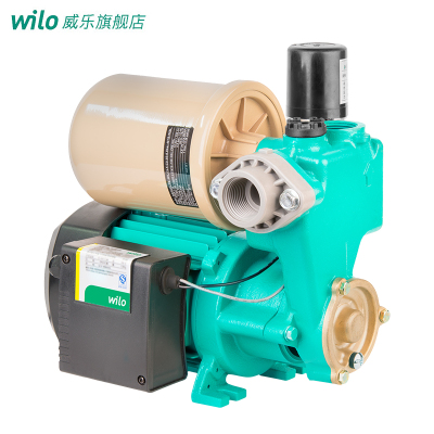德國Wilo威樂水泵PW-177EAH全自動自吸增壓泵家用自來水抽水機自吸泵