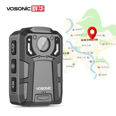 群華(VOSONIC)D10執法記錄儀錄像機執法助手現場攝像機1440P紅外夜視 13小時超長錄像 內置128G內存