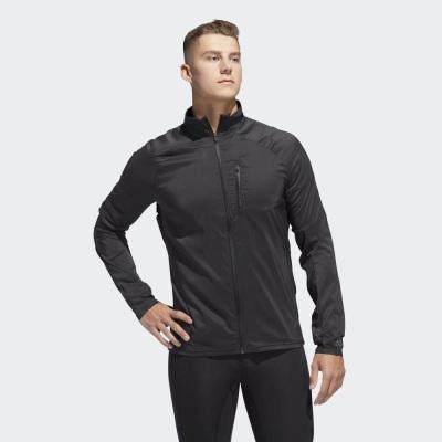 Adidas阿迪达斯夹克男秋季新款梭织立领运动服宽松外套运动茄克D73188