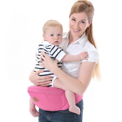 小松鼠芭雅Squirrelbaby 嬰兒背帶單腰凳 四季棉質寶寶腰凳多功能孕婦背帶透氣舒適坐凳省力單腰凳寶寶腰帶抱嬰凳
