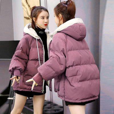 羽絨棉服女短款棉襖2020冬季新款韓版寬松學生面包服棉衣外套戶外保暖棉衣 TCVV