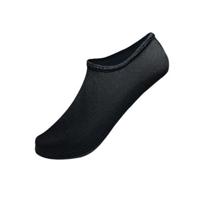 成人 珊瑚袜防割防滑沙滩速干袜泳鞋浮潜袜 潜水鞋户外装备潜水袜 黑色 S