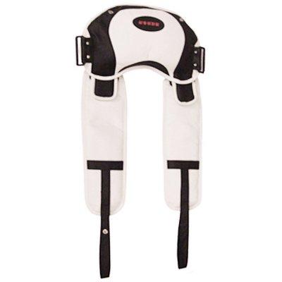 按摩披肩LMS-888-1分體頸肩樂溫感熱敷透氣網布定時功能捶打按摩器可拆卸按摩披肩全身肩部頸部按摩器 LMS-881