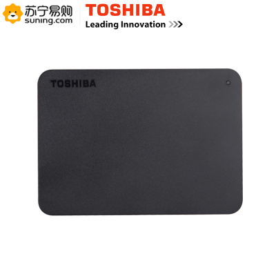 東芝(TOSHIBA)新小黑移動硬盤4T黑色HDTB440YK3CA