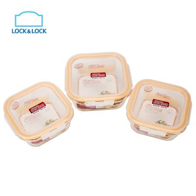 lock&lock брендийн шилэн сав 3 хос LLG224S901