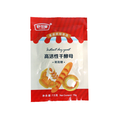舒可曼耐高糖干酵母15克/袋装 发酵粉 烘焙原料 调味品 舒可曼(SUGARMAN)出品 国产食品