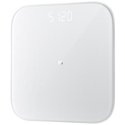 小米(MI) 體重秤 2代 白色智能電子稱 家用精準智能分析 全面升級