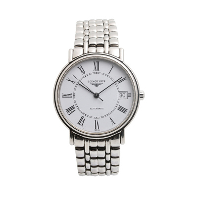 【二手95新】浪琴LONGINES优雅系列L4.821.4.11.6男表自动机械奢侈品钟手表腕表